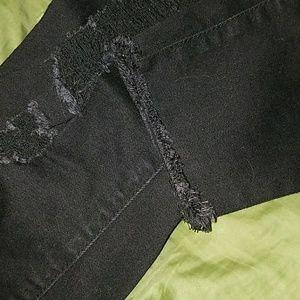 YMI Jeans - YMI (wanna betta butt) black distressed jeans